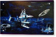 Stellar Cruiser Acrylic Print by Murphy Elliott
