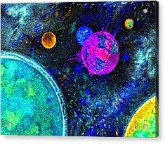 Stellar Flares Acrylic Print