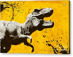 Stencil Trex Acrylic Print
