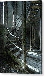 Step Acrylic Print by Akos Kozari