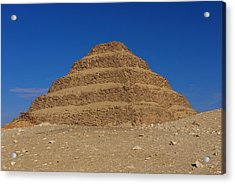 Step Pyramid Of King Djoser At Saqqara  Acrylic Print