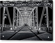 Step Under The Steel Acrylic Print