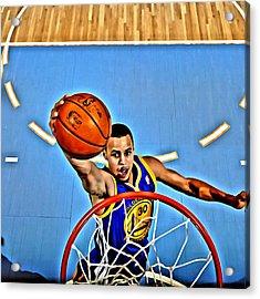 Steph Curry Acrylic Print