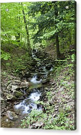 Stepped Water Fall Acrylic Print