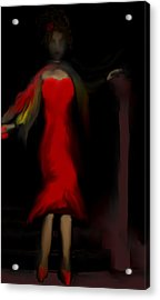 Steppin Out Acrylic Print by Jessica Wright