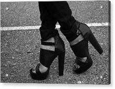 Stepping Out 2 Acrylic Print by Ester  Rogers