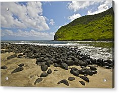Stepping Stones Acrylic Print by Brian Governale