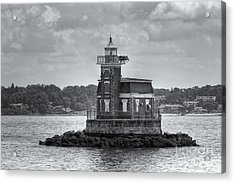 Stepping Stones Lighthouse II Acrylic Print by Clarence Holmes