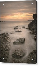 Stepping Stones To Oblivion Acrylic Print by Andy Astbury