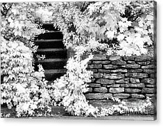 Steps And Stones Acrylic Print