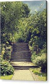 Steps Acrylic Print by Amanda Elwell