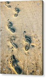 Steps Acrylic Print by Menachem Ganon