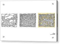Steps Acrylic Print by Miha Mohoric