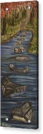 Steps Of Faith Acrylic Print