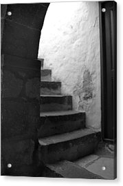 Steps On Patmos Acrylic Print