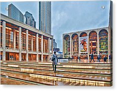 Steps To Fame Lincoln Center Acrylic Print