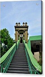 Steps To Muslim Mystic Shrine Singapore Acrylic Print by Imran Ahmed