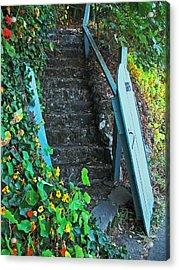 Steps To Somewhere Acrylic Print by Connie Fox