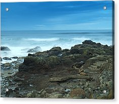 Steps To The Ocean Acrylic Print