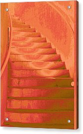Steps Acrylic Print by Wendy J St Christopher