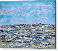Steptoe Butte 1 Acrylic Print by Lynne Haines