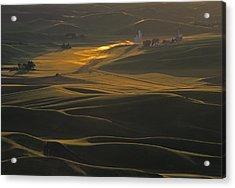 Steptoe Butte Sunset Acrylic Print
