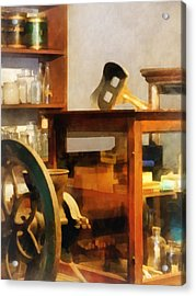 Stereopticon For Sale Acrylic Print by Susan Savad