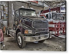 Sterling Truck Acrylic Print by Douglas Barnard