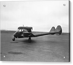 Sterman-hammond Y-1s Aircraft Acrylic Print by Underwood Archives