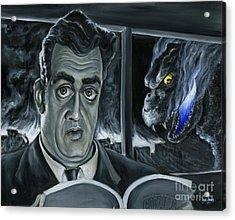 Steve Martin's Impending Regret Acrylic Print by Mark Tavares