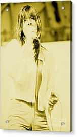 Steve Perry Of Journey At Day On The Green - July 27th 1980 Acrylic Print