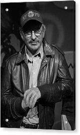 Steven Spielberg Acrylic Print by Lee Dos Santos