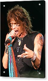 Acrylic Print featuring the photograph Steven Tyler by Don Olea