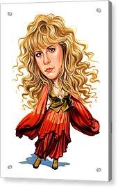Stevie Nicks Acrylic Print by Art