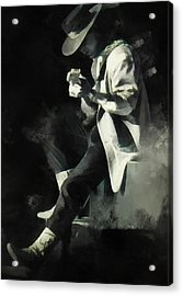 Stevie Ray Acrylic Print