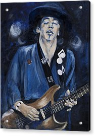 Stevie Ray Vaughn Acrylic Print
