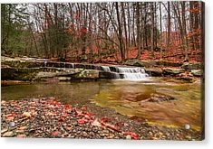 Acrylic Print featuring the photograph Stickney Brook 1 by Jeremy Farnsworth