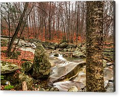 Acrylic Print featuring the photograph Stickney Brook 3 by Jeremy Farnsworth