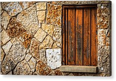 Sticks And Stone Acrylic Print