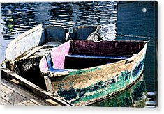 Still Afloat Acrylic Print by Mike Martin