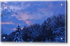 Still Chill Acrylic Print by Elizabeth Sullivan