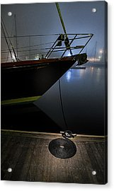 Acrylic Print featuring the photograph Still In The Fog by Marty Saccone