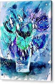 Still Life 3423 Acrylic Print by Pol Ledent