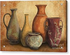 Still Life-c Acrylic Print by Jean Plout