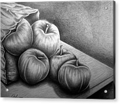 Still Life Drawing Acrylic Print