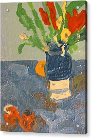 Still Life Flowers Acrylic Print