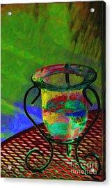Still Life Acrylic Print by Gerlinde Keating - Galleria GK Keating Associates Inc
