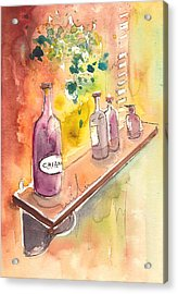 Still Life In Chianti In Italy Acrylic Print by Miki De Goodaboom