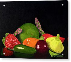 Still Life No. 3 Acrylic Print by Mike Robles