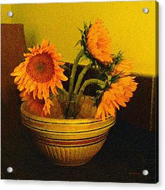 Still Life September Acrylic Print by RC deWinter